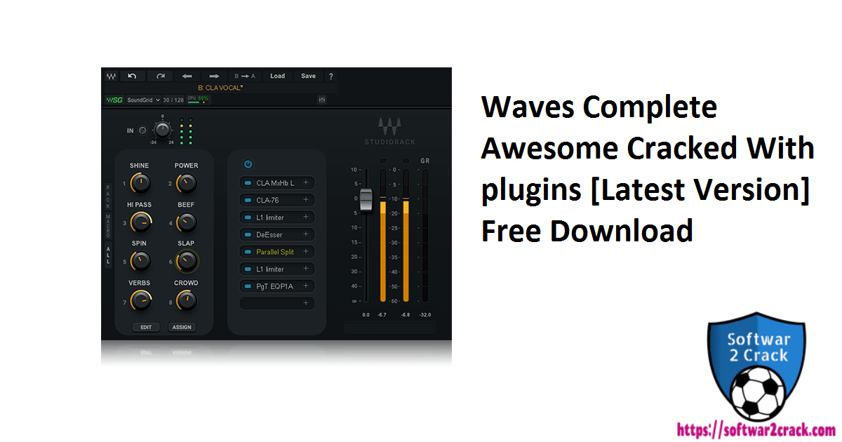 Waves Complete Awesome Cracked With plugins [Latest Version] Free Download