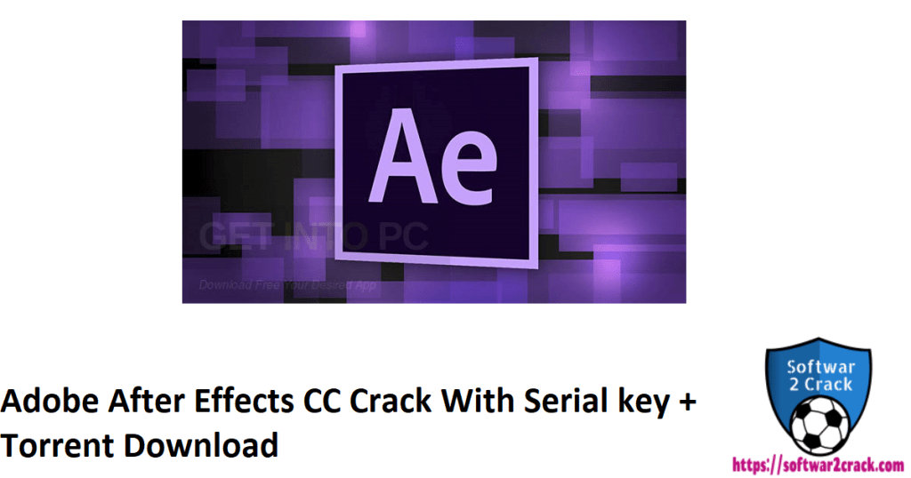 Adobe After Effects CC Crack With Serial key + Torrent Download