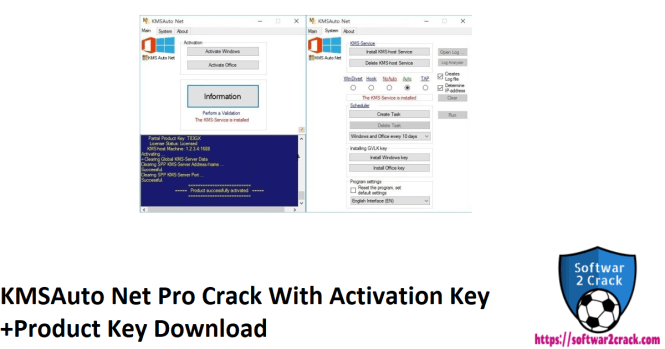KMSAuto Net Pro Crack With Activation Key +Product Key Download