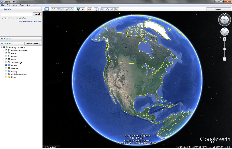 Open Earth Using Vba For Excel Earth Api