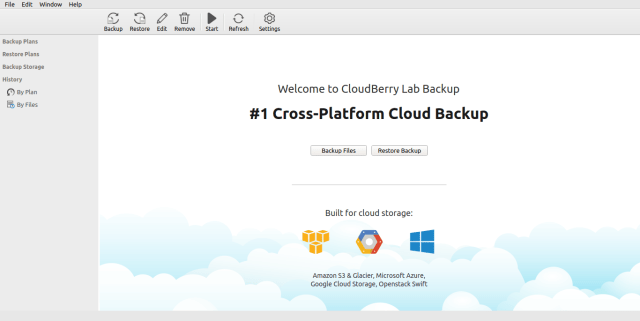 cloudberry backup for Ubuntu