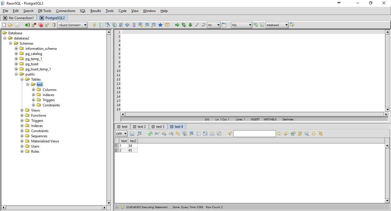 Download RazorSQL 7 3 7 Database Tool for Windows
