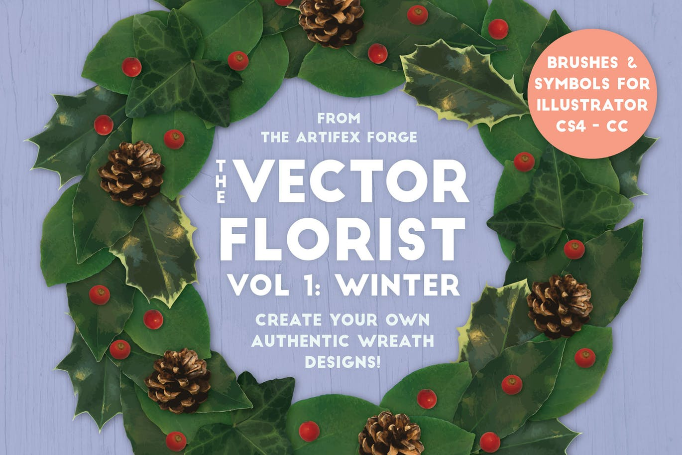 The Vector Florist - Brushes - Winter