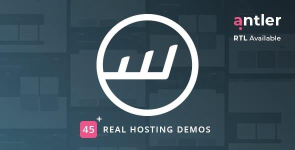Antler - Hosting Provider & WHMCS Template