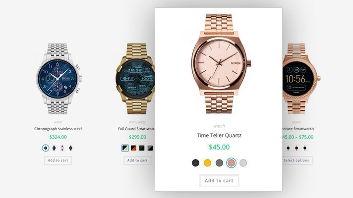 Plugin WooCommerce Variation Swatches Pro