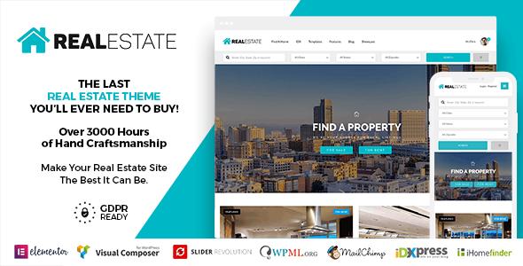 Real Estate 7 WordPress