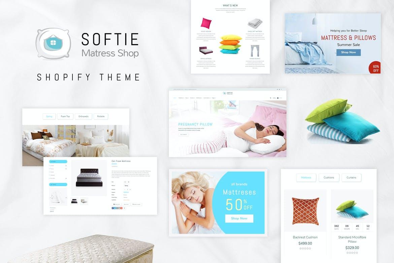 Softie Beds & Mattress Shopify Theme
