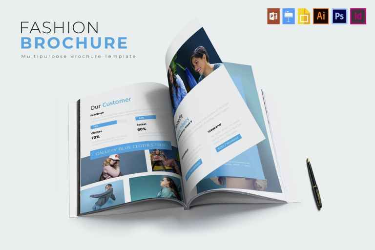 Fashion Clothes - Brochures Template