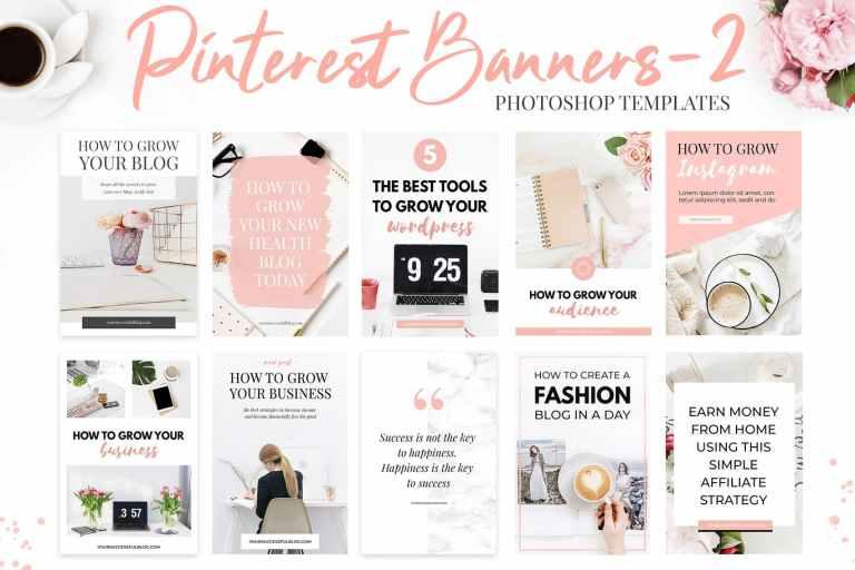 Pinterest Templates V.2