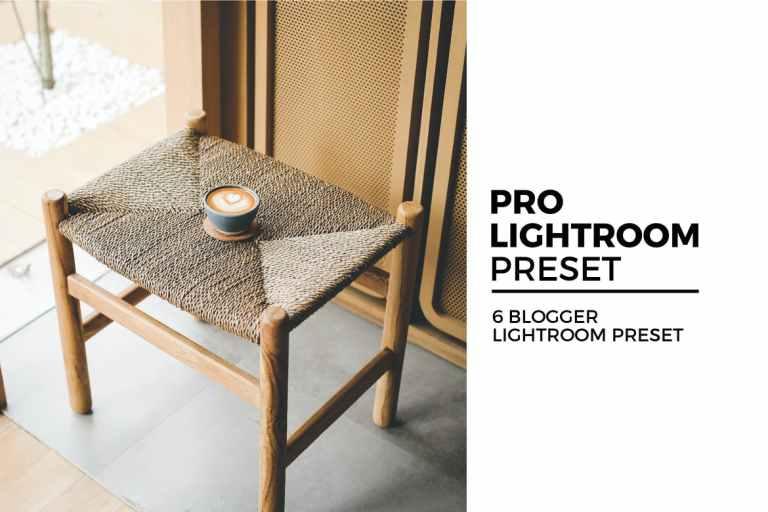 6 Blogger Lightroom Preset