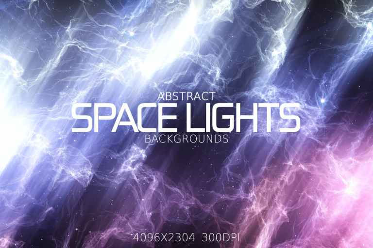 Abstract Space Lights Backgrounds