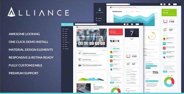 Alliance - Intranet & Extranet WordPress Theme