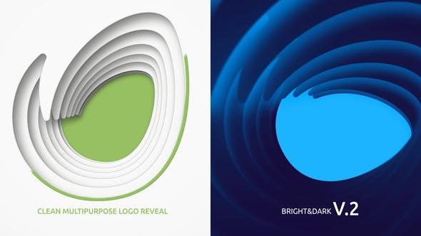 Clean multipurpose Logo reveal