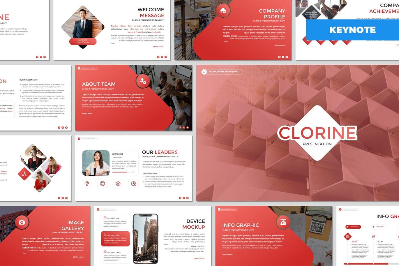 Clorine - Multipurpose Keynote Template