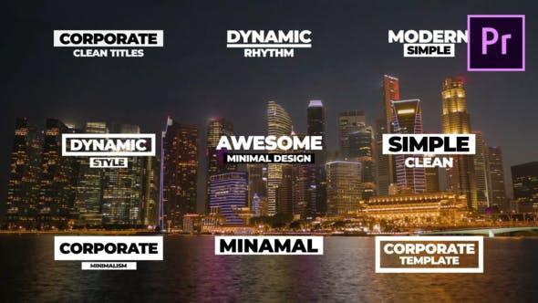 Dynamic Elegant Titles