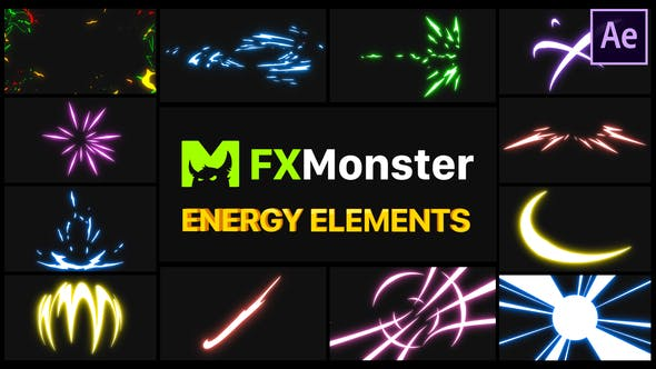 Energy Elements - After Effects