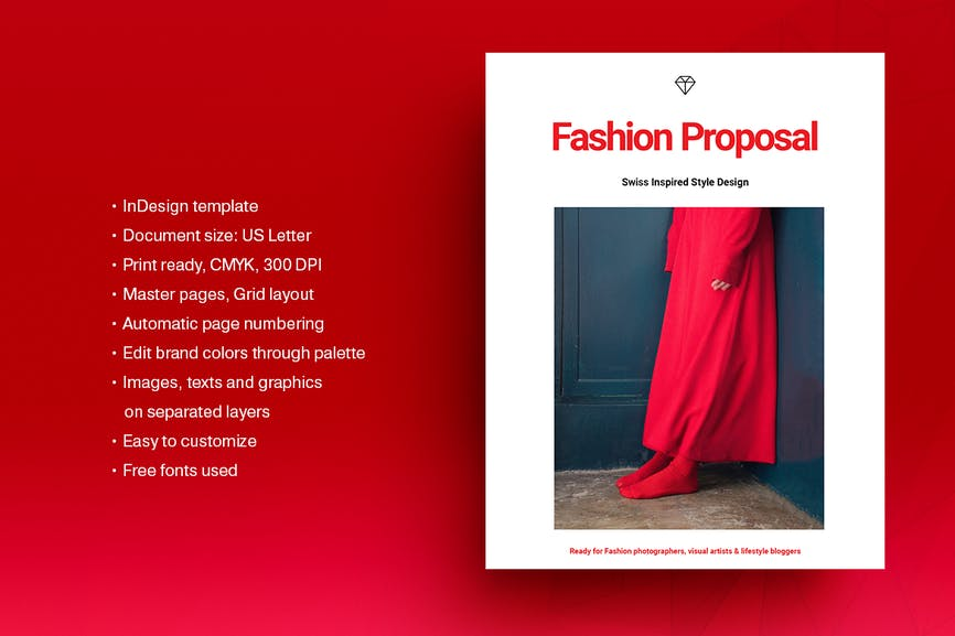 Fashion Proposal Template