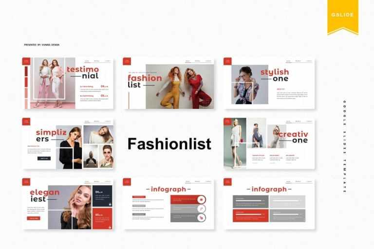 Fashionlist | Google Slides Template