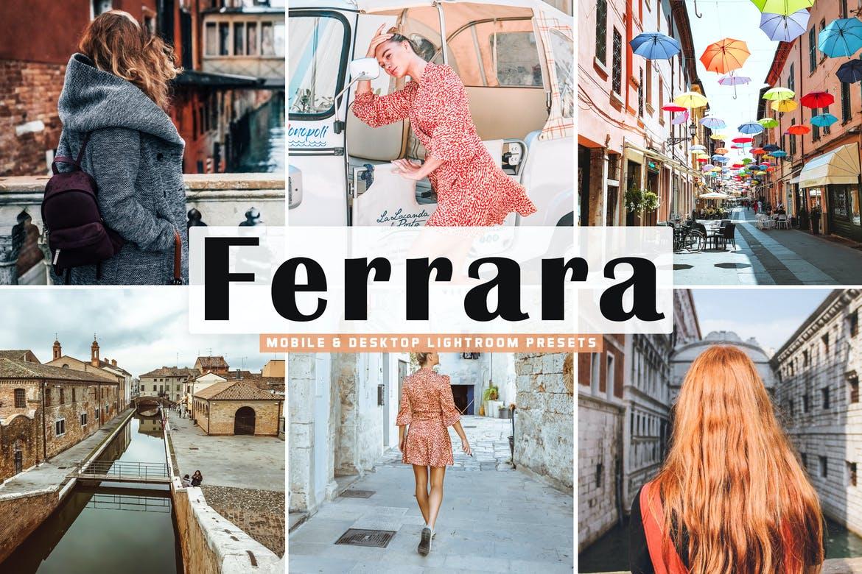 Ferrara Mobile & Desktop Lightroom Preset