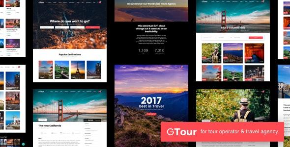 Grand Tour - Travel Agency WordPress