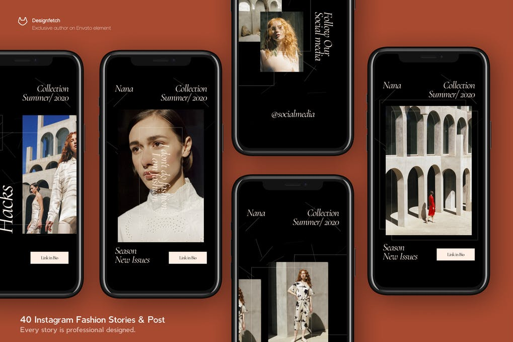 Instagram Fashion Story & Post Template