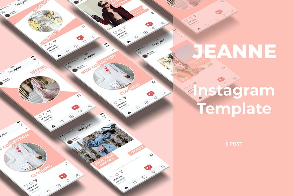 Jeanne - Fashion Social Media Post Part 3