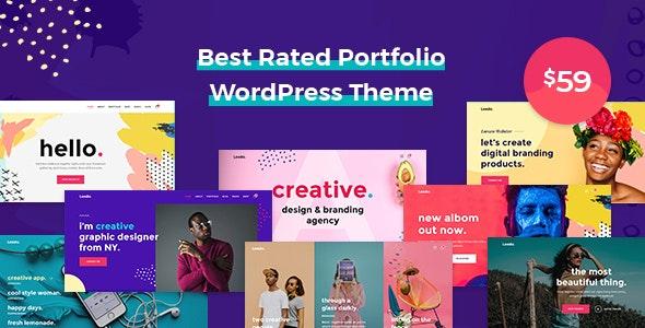Leedo v1.3.8 - Creative Portfolio Theme WP