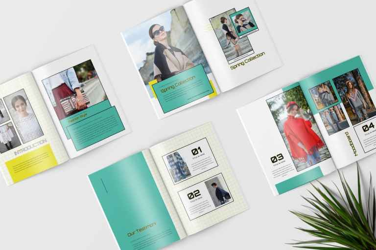 Lookbook Magazine Template
