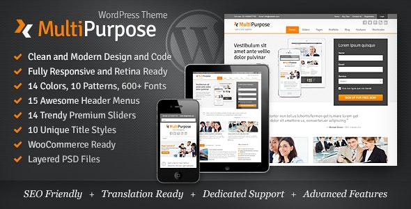 Miion - Multi-Purpose WordPress Theme