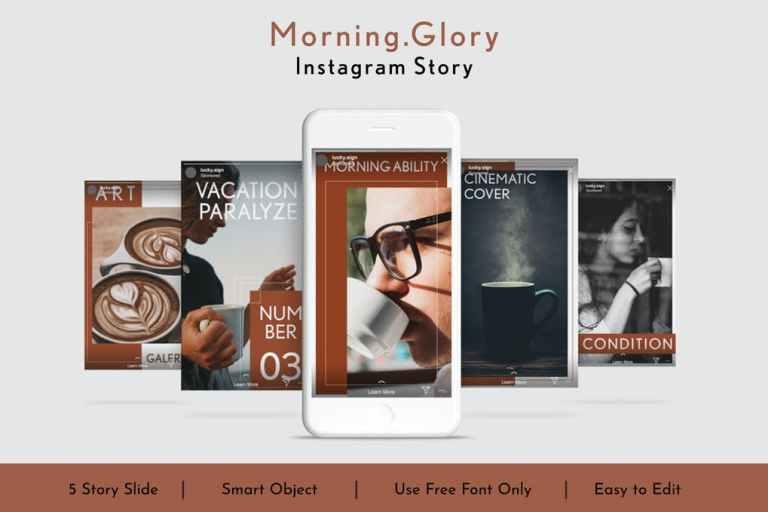 Morning.Glory Social Media Story Vol.9