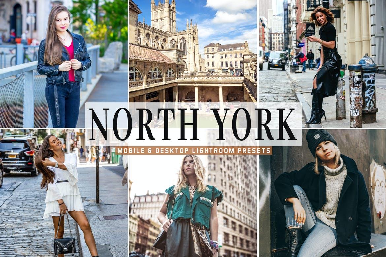 North York Mobile & Desktop Lightroom Presets