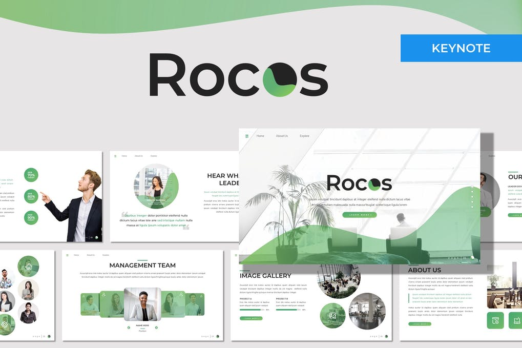 Rocos - Multipurpose Keynote Template