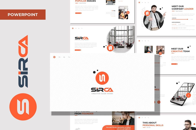 Sirca - Multipurpose Powerpoint Template