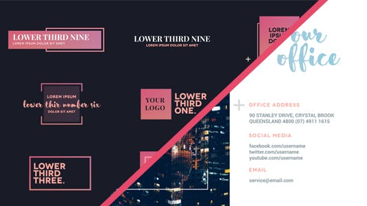 Slides & Lower Thirds Package