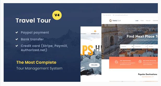 Travel Tour v4.2.1 - Tour Booking WordPress Template