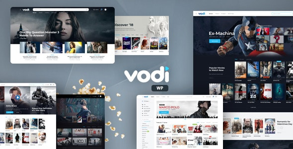 Vodi v1.2.0 - Online Cinema WordPress Theme