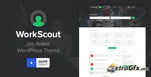 WorkScout v2.0.11 - WordPress Labor Exchange Template
