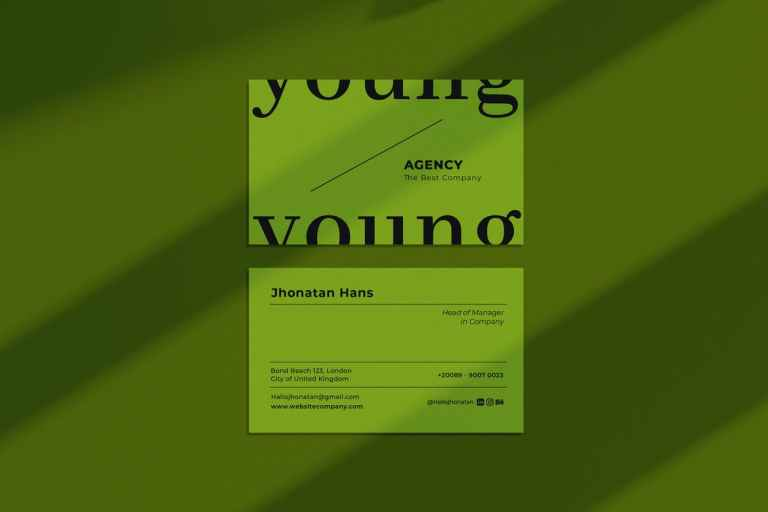 Young Agency Business Card
