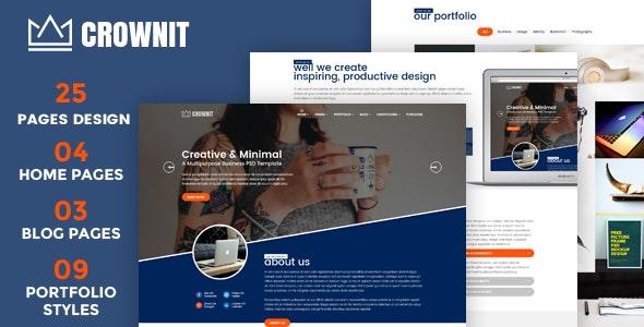 CrownIT - Responsive Multi-Purpose WordPress Theme