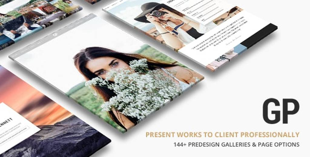 Grand Photography v4.1 NULLED - WordPress Template for Photography