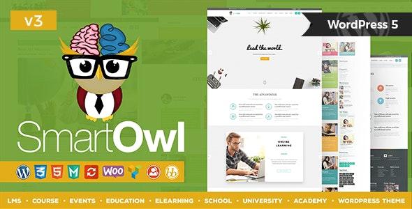 SmartOWL - LMS Education WordPress Theme + RTL