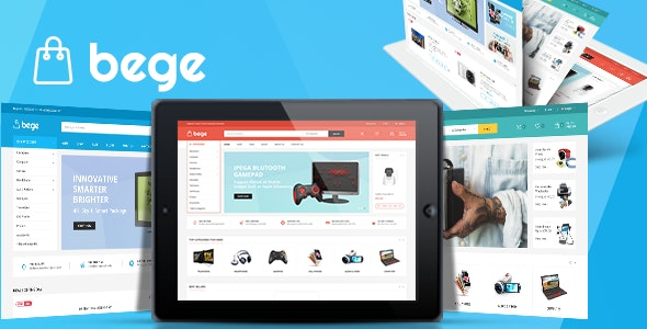 Bege v1.1 - responsive template for Opencart