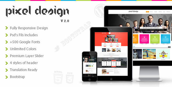 PixelTheme - responsive template for Opencart 2.3
