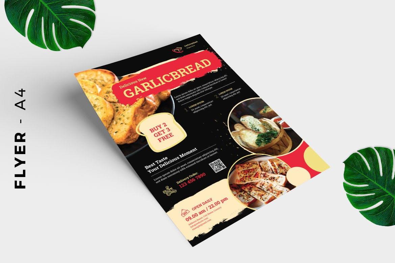 Bread Cake Flyer Design