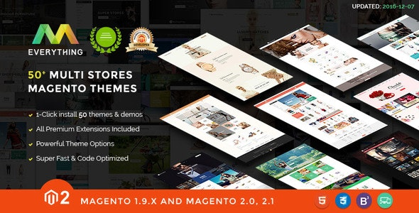 Everything - Multipurpose Responsive Magento Themes Bundle