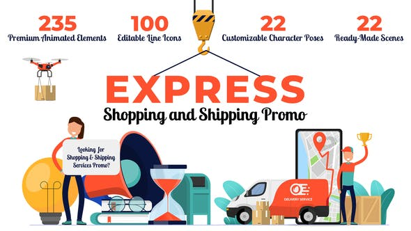 Express Shopping & Shipping Promo