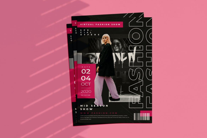 Fashion Show Mid Season Flyer