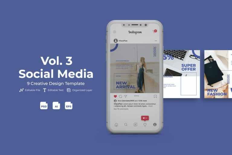 Fashone - Social Media Kit Vol. 3