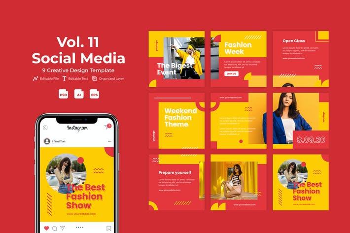 Fashvent - Social Media Template Vol. 11