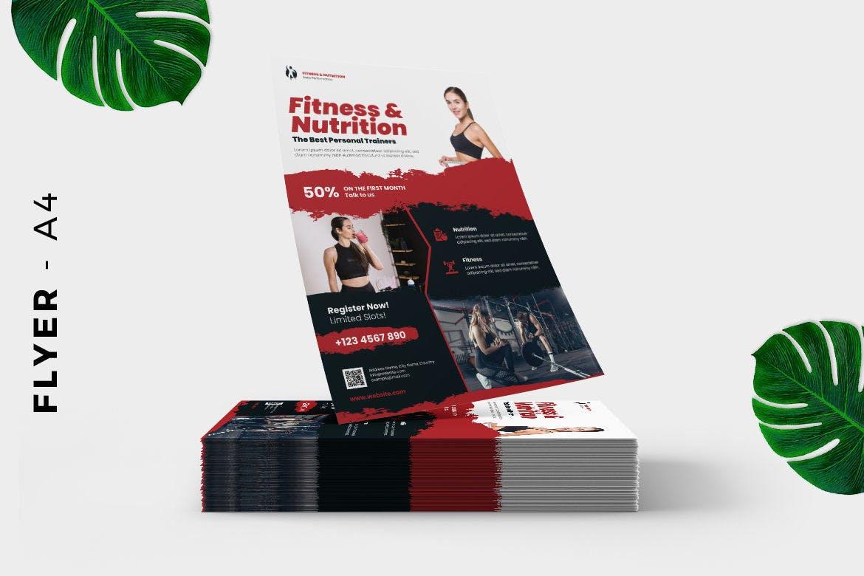 Fitness Gym Flyer Design